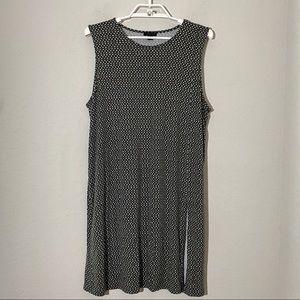 J. Jill Wearever Collection Sleeveless Tunic Slit